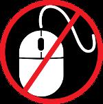 No Mouse Challenge Logo
